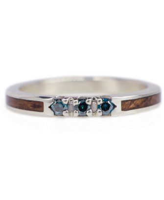 Wooden Wedding Rings Made In Gold Titanium Stainless Steel