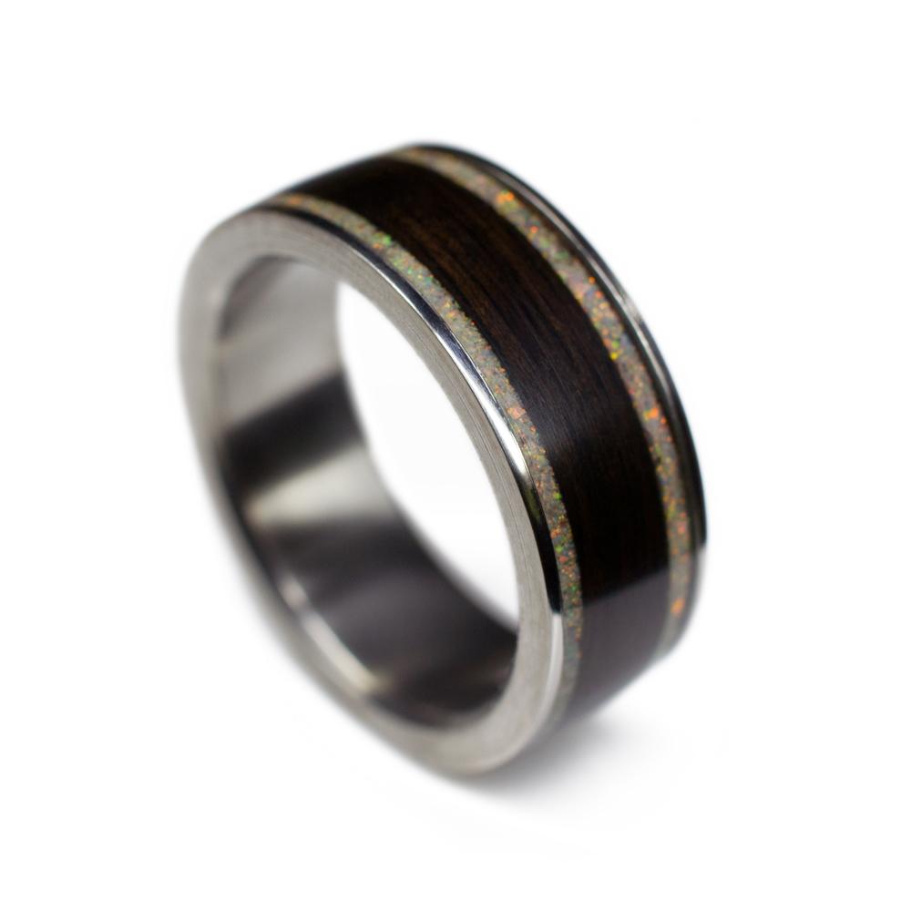 Unique Men S Wedding Bands Alternative Materials Casavir Jewelry